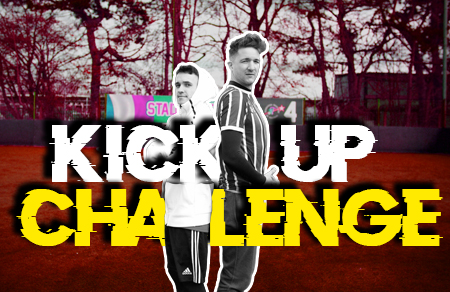 James v Konrad Borzy | Kick Up Challenge