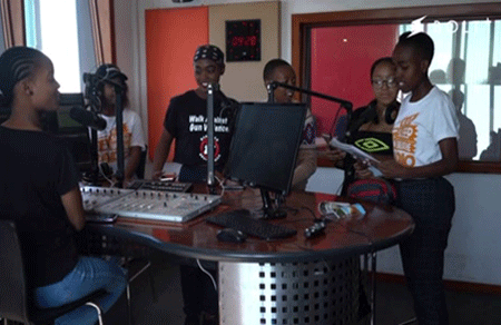 South African teens fight gun crime with a radio broadcast