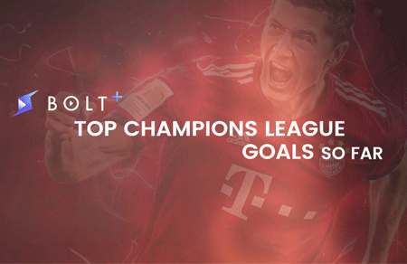 Top Champions League Goals So Far