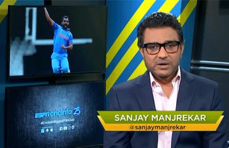Sanjay Manjrekar's World Cup XI