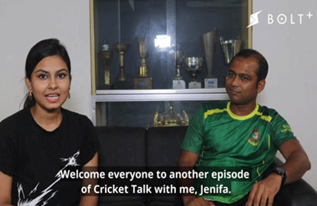 BOLT's interview with Mr. Khademul Islam, BCB Physiotherapy Coordinator