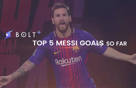Top 5 Lionel Messi Goals